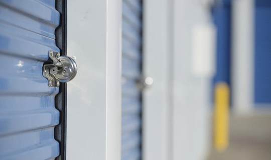 self storage development, storage locks, locked doors